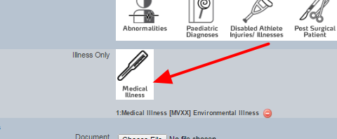 When the form is opened, the Illness Code should display as expected. If it doesn't then you may have mapped the wrong column, or you may not have set up the concatenate correctly.