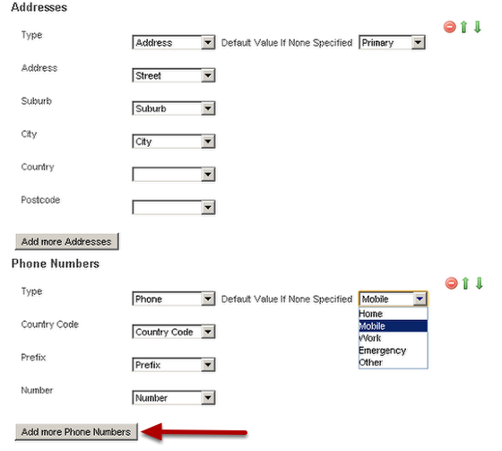 Map Across Any Address Information or Phone Numbers. If you had primary and secondary addresses and home, mobile numbers these can be imported here (as shown in the image in the step below)