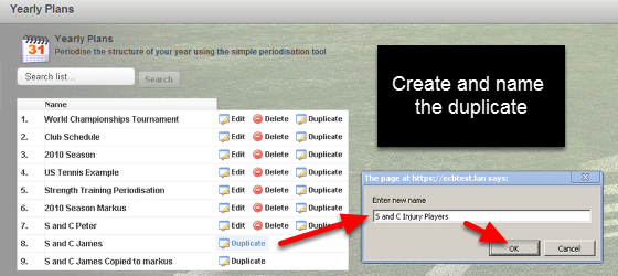 Shared Plans can be duplicated and renamed (they cannot be directly edited or deleted). You can then update and edit the duplicate