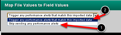 Select whether you need any of the alerts to fire, or whether you want to skip sending out alerts