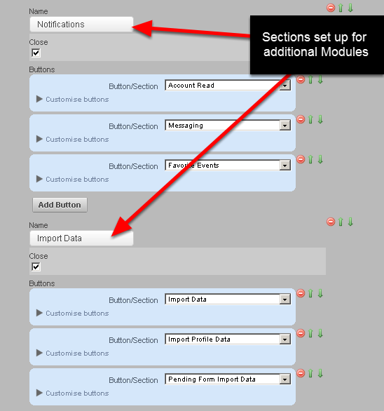 "Don't forget to check for ""missing"" Modules that a Coach or Athlete may need that you have not enabled as a Button in a Section, or as a Tab or Small Link"