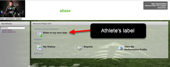 Once a Group is added to the Page Layout (e.g. the U18 Page Layout), any athletes in that group will be shown this layout. If they only have access to some of the Modules (buttons, small links and tabs), only the Modules that they access to will appear.