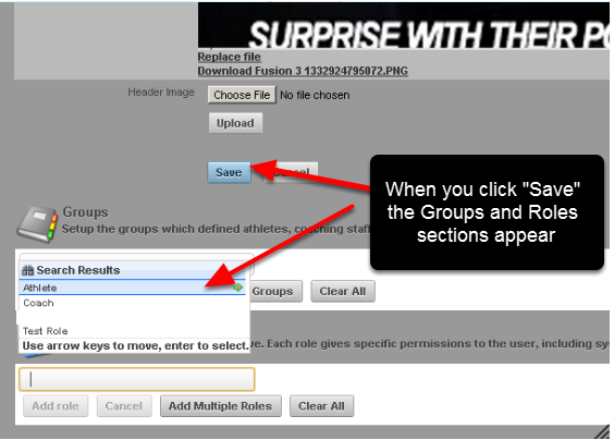 "Once you create a new Page Layout and you click on ""Save"", additional Groups and Roles sections appear below the Save button. The Page Layout you have created can now be applied to a Group/s or a Role/s."
