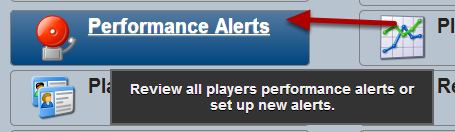 """To Create or Access the Performance Alerts, click on the """"Performance Alerts"""" button on the Home Page"""