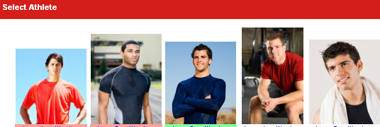 Choose an Athlete