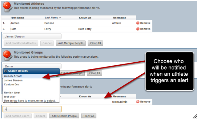 Now choose who needs to get Notified when the alert criteria is triggered?