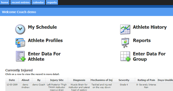 7.1 Access to Enter Data and Review Reports