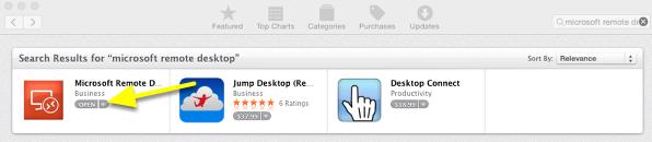 Start Microsoft Remote Desktop App