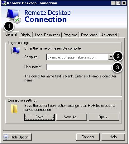 Set the Computer name