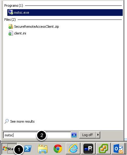 Open Remote Desktop Client