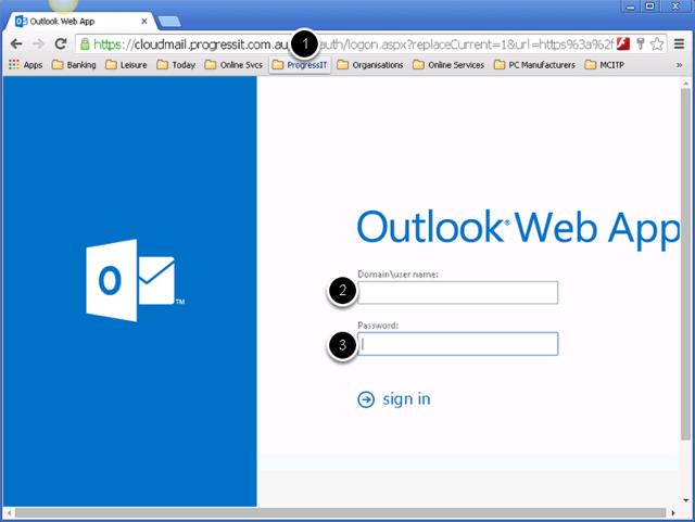 Login to Webmail