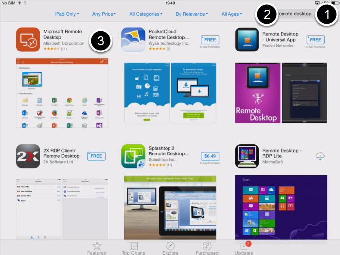 Find & Download the App