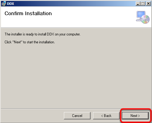 Confirm your installation