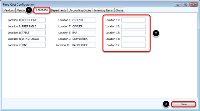 Adding & Editing Locations