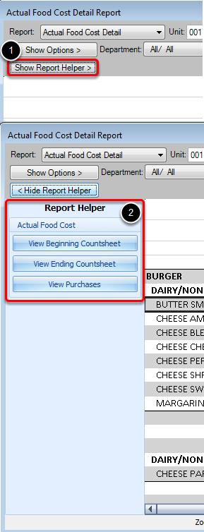 Report Helper