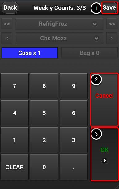 Saving Mobile Countsheets