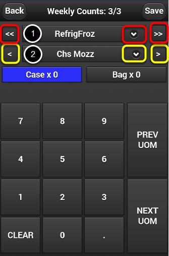 Mobile Countsheet Explanation