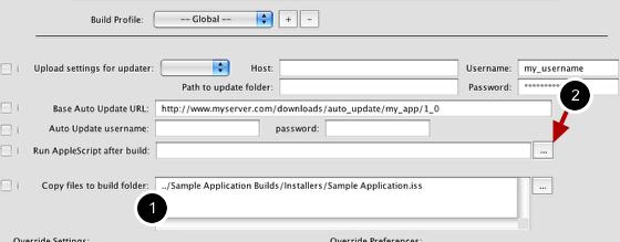 Adding an AppleScript to Run