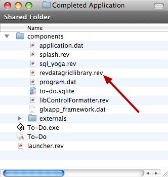 Copy File Into Application Folder