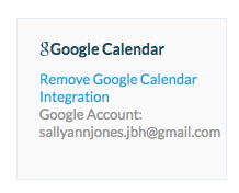 5. Your 2-way Google Calendar Sync is now enabled!