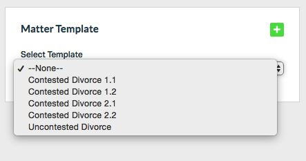 Matter Templates make your life a whole lot easier!