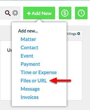 "2. Select ""Files or URL""."