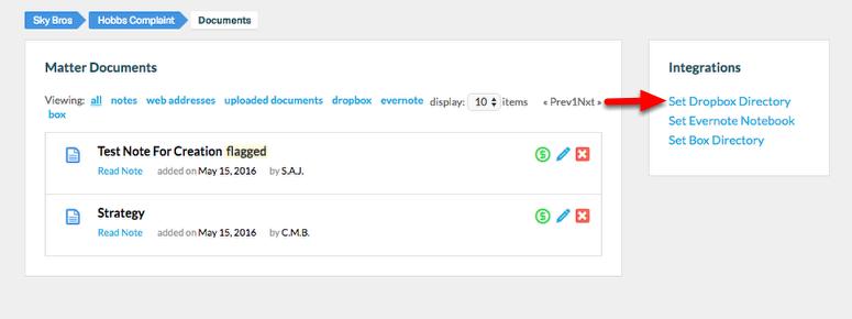 "3. Select ""Set Dropbox Directory""."