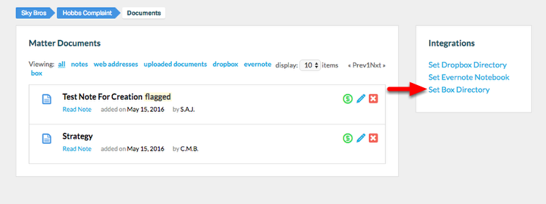 "3. Select ""Set Box Directory""."