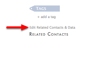 """4. Click """"Edit Related Contacts & Data""""."""