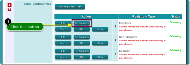 VISIBILITY of Registrant Type attributes