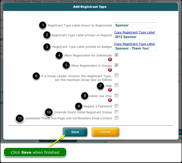 Define the Registrant Type