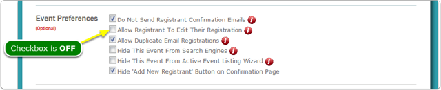 The Cleared Checkbox