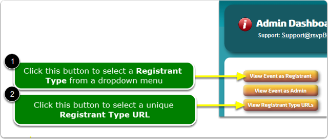 If Buttons, your Registrant Type display tools are located here ...