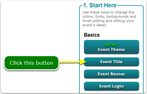If Buttons, your Event Name tool is located here ...