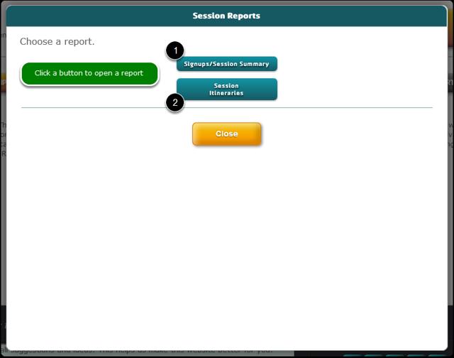 Pre-set: Session Reports