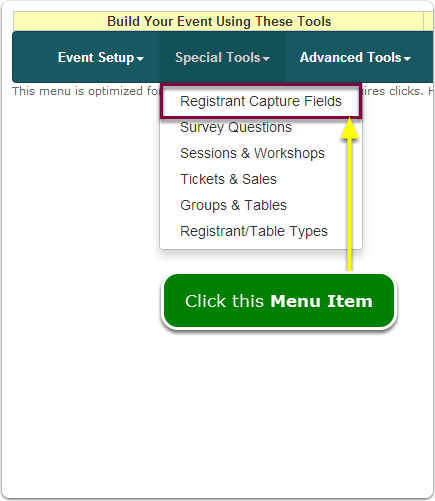 If Menus, your About You Editor tool is located here ...