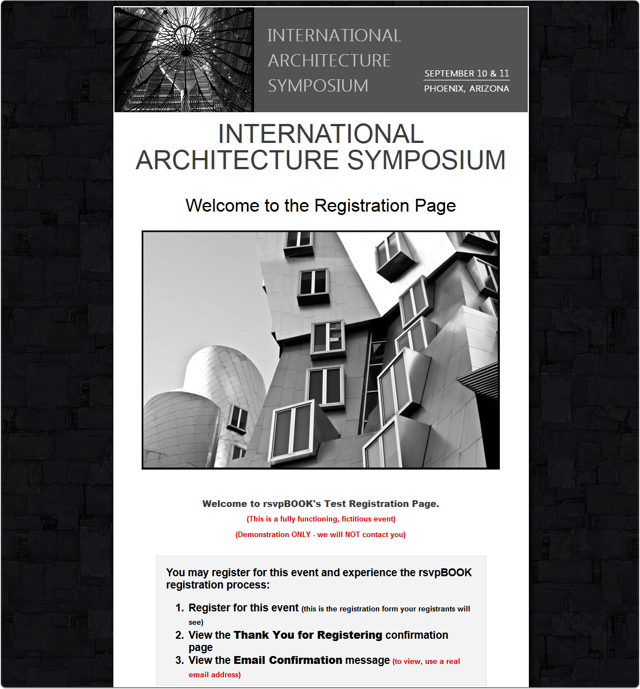 An Architecture Symposium