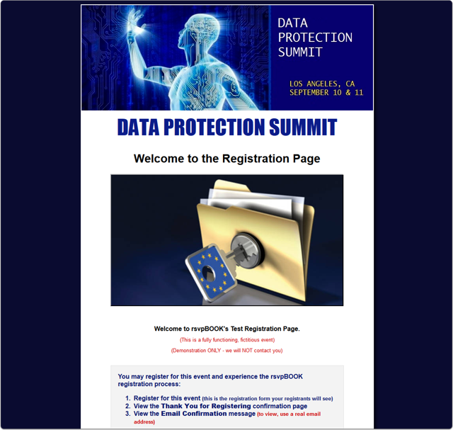 A Data Protection Summit