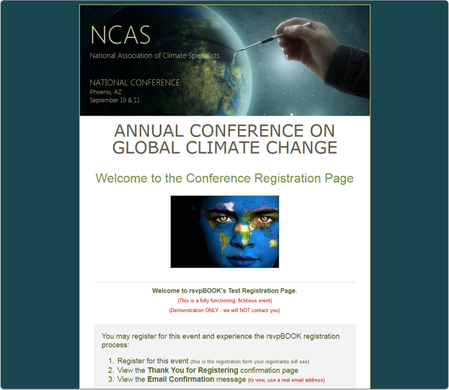 A Global Climate Conference