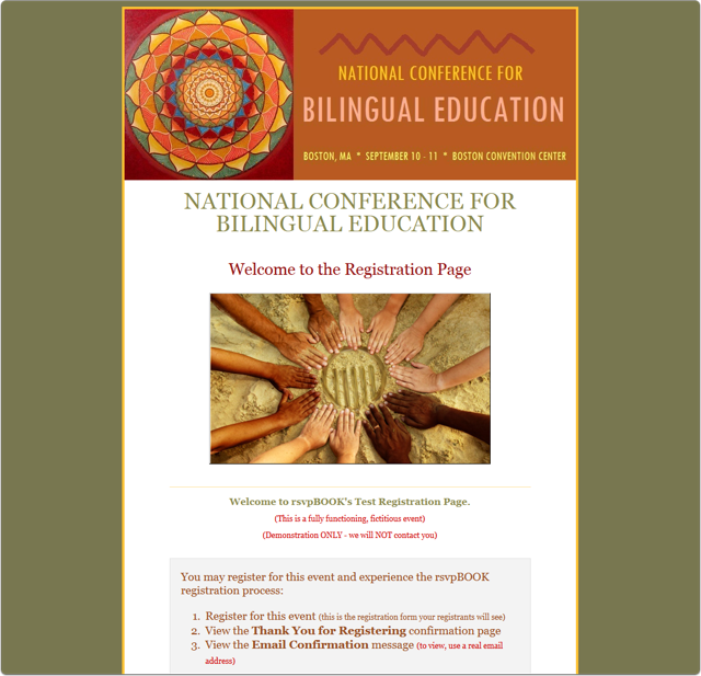 A Bilingual Education Conference