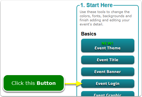 If Buttons, then your Admin Dashboard Login tool is located here ...