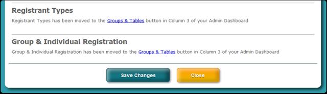 Advanced Registration screen modified ...