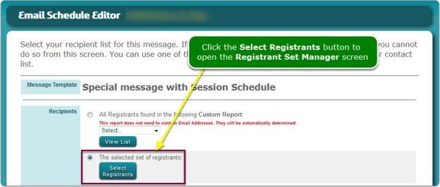 Define your registrant set.