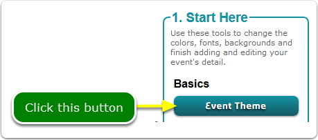 If Buttons, your Event Theme tool is located here ...