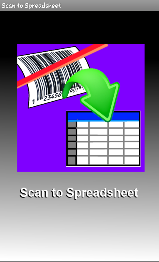 Open the Scan to SS app on your iPhone
