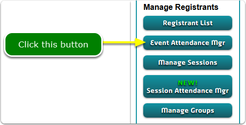 If Buttons, your Event Attendance Manager tool is located here ...