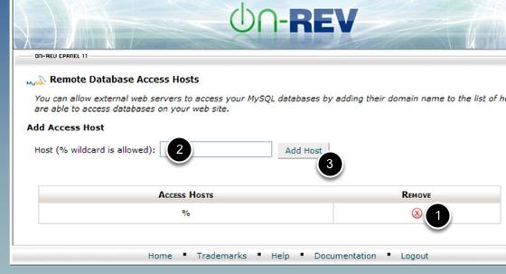 Managing Access Hosts
