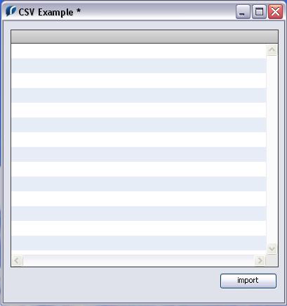 Using a datagrid
