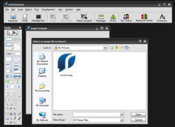 Select the Image Filepath