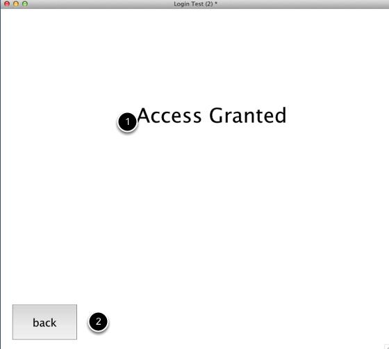 Setup accessed card